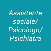 Social worker/psychologist/psychiatrist